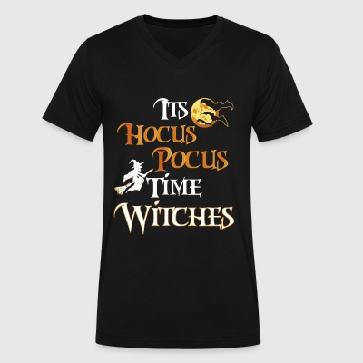 Halloween Witch - Men's V-Neck T-Shirt by Canvas