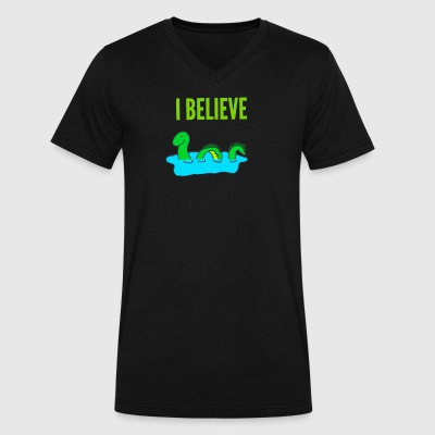 I believe - Men's V-Neck T-Shirt by Canvas
