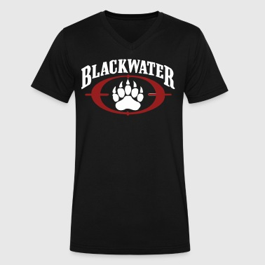 New Hot Blackwater Logo - Men's V-Neck T-Shirt by Canvas