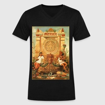 Viva la Mexico! - Men's V-Neck T-Shirt by Canvas