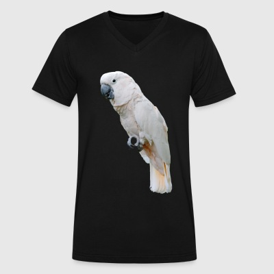 Basic Cockatoo - Men's V-Neck T-Shirt by Canvas