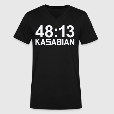 48 Kasabian - Men's V-Neck T-Shirt by Canvas