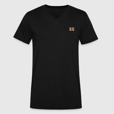 SS brand clothing - Men's V-Neck T-Shirt by Canvas