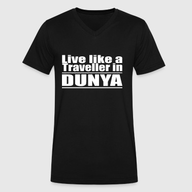 ISLAM DUNYA allah muslim - Men's V-Neck T-Shirt by Canvas