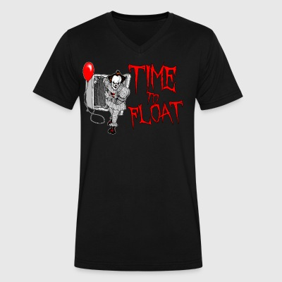 Time To Float - Men's V-Neck T-Shirt by Canvas