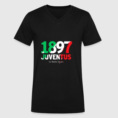 juventus - Men's V-Neck T-Shirt by Canvas
