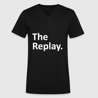 The Replay Matching Family - Men's V-Neck T-Shirt by Canvas