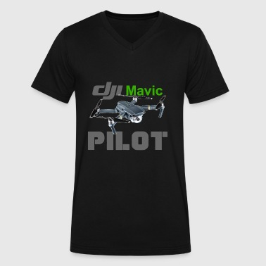 dji Mavic PILOT - Men's V-Neck T-Shirt by Canvas