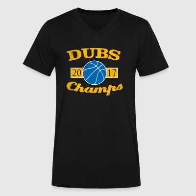 DUBS 2017 CHAMPIONS WARRIORS SHIRT - Men's V-Neck T-Shirt by Canvas