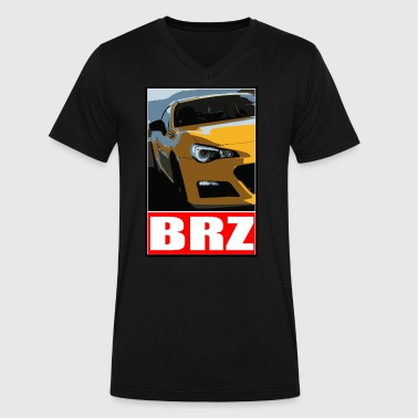 Toyota BRZ - 86 - Men's V-Neck T-Shirt by Canvas
