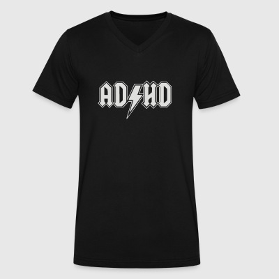 ADHD - Men's V-Neck T-Shirt by Canvas