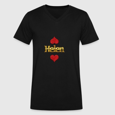 Helen - Men's V-Neck T-Shirt by Canvas