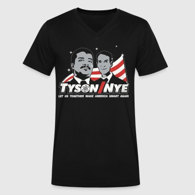 Tyson/Nye - Men's V-Neck T-Shirt by Canvas