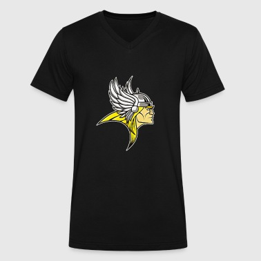 Asgardians - Men's V-Neck T-Shirt by Canvas