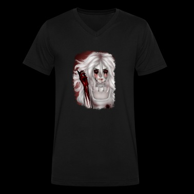 Alice Madness Returns - Hysteria - Men's V-Neck T-Shirt by Canvas
