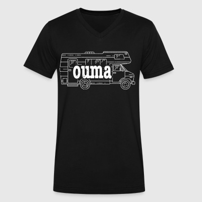 Best Afrikaans Ouma RV Retirement - Men's V-Neck T-Shirt by Canvas
