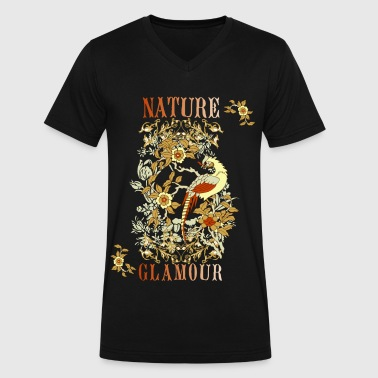 Nature glamour - Men's V-Neck T-Shirt by Canvas