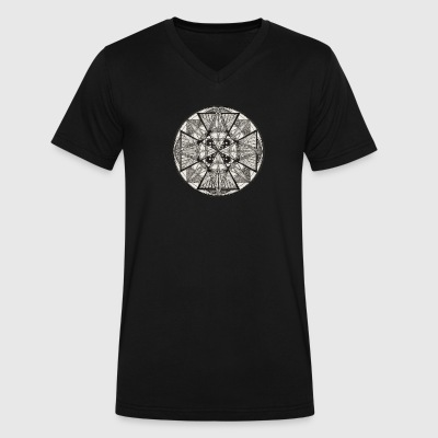 Mandala The Power of potency - Men's V-Neck T-Shirt by Canvas