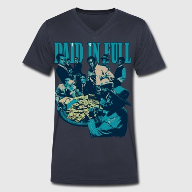 paid in full - Men's V-Neck T-Shirt by Canvas