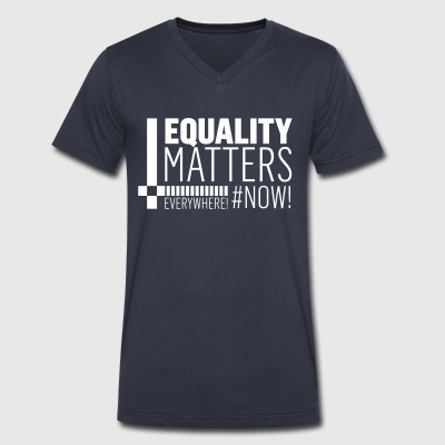 International Women´s day! Equality! - Men's V-Neck T-Shirt by Canvas