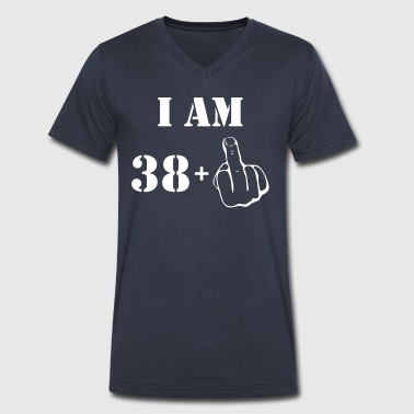 39th Birthday T Shirt 38 + 1 Made in 1978 - Men's V-Neck T-Shirt by Canvas