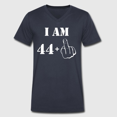 45th Birthday T Shirt 44 + 1 Made in 1972 - Men's V-Neck T-Shirt by Canvas