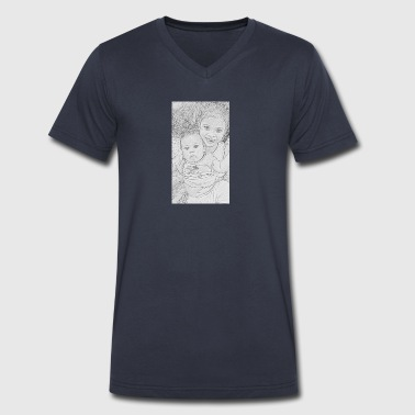 Maycon - Men's V-Neck T-Shirt by Canvas
