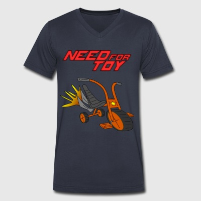 Need for Toy - Men's V-Neck T-Shirt by Canvas