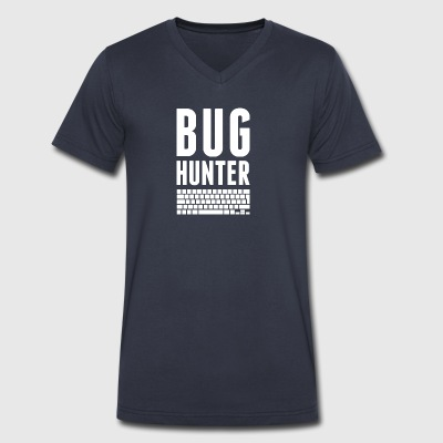 BUG HUNTER - Men's V-Neck T-Shirt by Canvas