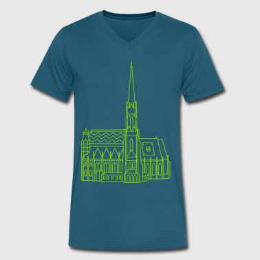 Cathedral Vienna - Men's V-Neck T-Shirt by Canvas