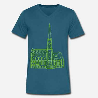 Cathedral Cathedral Vienna - Men's V-Neck T-Shirt by Canvas