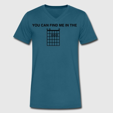 Thea You Can Find Me In The - Men's V-Neck T-Shirt by Canvas