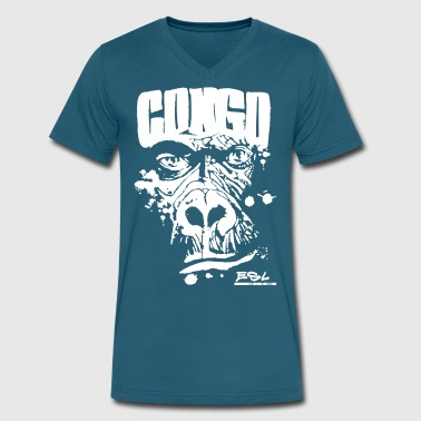 Congo - Men's V-Neck T-Shirt by Canvas