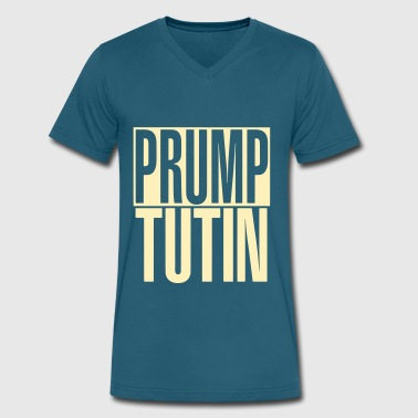 Prump Tutin - Men's V-Neck T-Shirt by Canvas