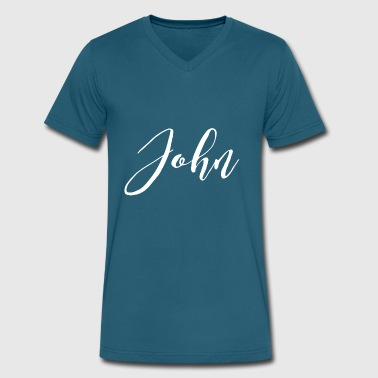 John - Men's V-Neck T-Shirt by Canvas