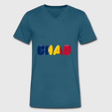 Love Chad chad - Men's V-Neck T-Shirt by Canvas
