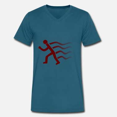 Runner Stuff runner - Men's V-Neck T-Shirt by Canvas