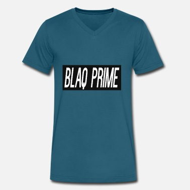 Ballislife Blaq Prime Logo T - Men's V-Neck T-Shirt by Canvas