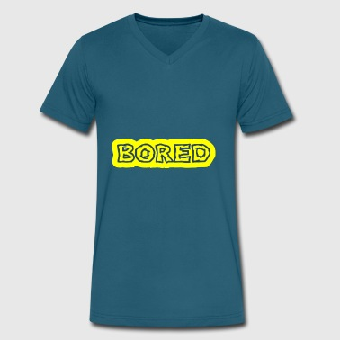Boring Quotes Bored - Men's V-Neck T-Shirt by Canvas