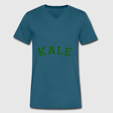 Kale University Kale T Shirt Kale Shirt Kale University T Shirt - Men's V-Neck T-Shirt by Canvas