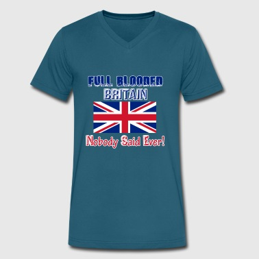 britain - Men's V-Neck T-Shirt by Canvas