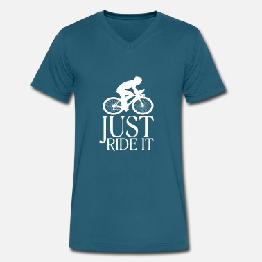 Brand Bicycle Bicycle - Men's V-Neck T-Shirt by Canvas