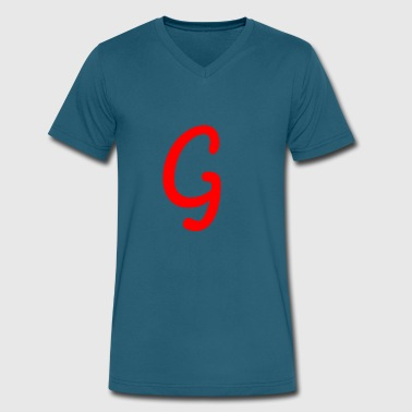 G - Men's V-Neck T-Shirt by Canvas