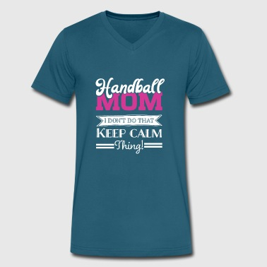 Handball Mom - Men's V-Neck T-Shirt by Canvas
