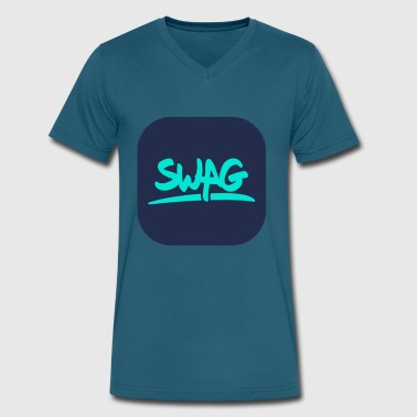 Swag New swag - Men's V-Neck T-Shirt by Canvas