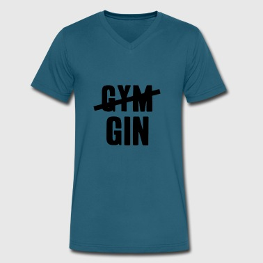 Gin - Men's V-Neck T-Shirt by Canvas