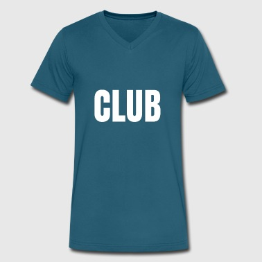 Club - Men's V-Neck T-Shirt by Canvas