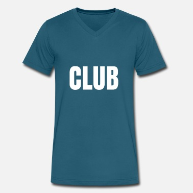 Clubbing Club - Men's V-Neck T-Shirt by Canvas