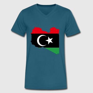 arab - Men's V-Neck T-Shirt by Canvas