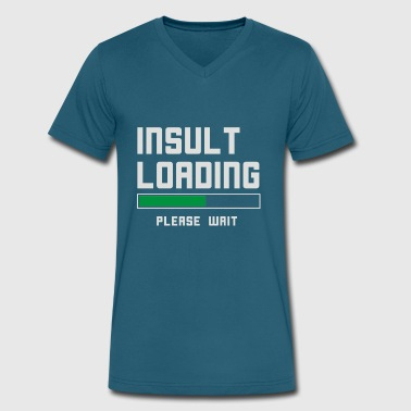 Bowling Insults Insult loading please wait funny - Men's V-Neck T-Shirt by Canvas